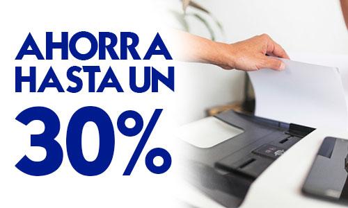30% Descuento impresoras