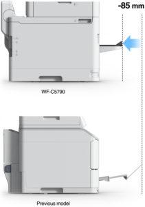medidas impresora empresas