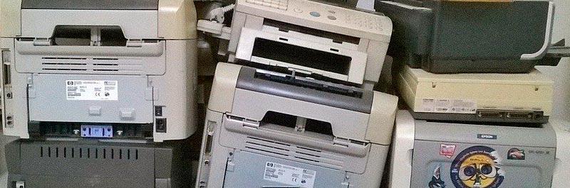 Impresoras antiguas → www.mundoficina.com