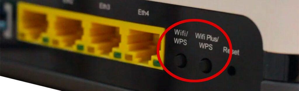 Botón de emparejamiento WPS en router → www.mundoficina.com