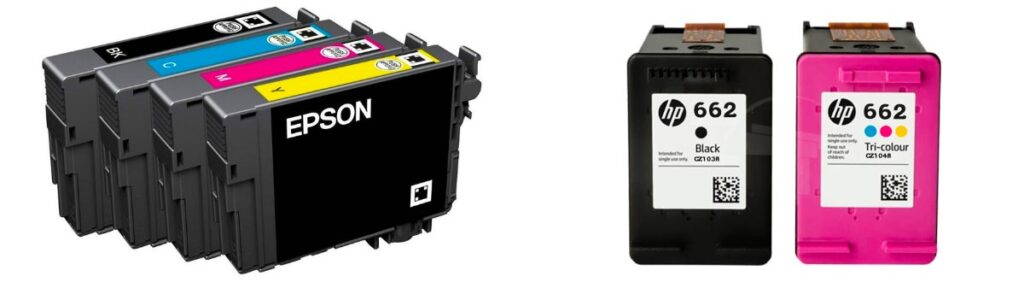 Cartuchos de tinta Epson y HP diferencias → www.mundoficina.com